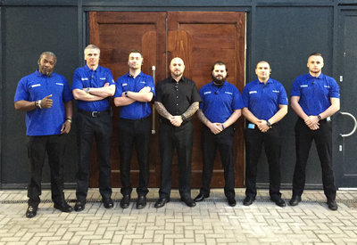 Blue Diamond Security people on location