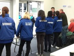 Blue Diamond Security Employees on location - image 7